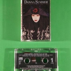 Donna Summer Another Time and Place Pop Cassette